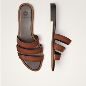 NEW Limited Edition multi strap leather sandals.